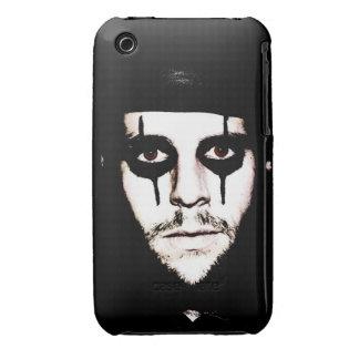 Ojos morados Brown iPhone 3 Case-Mate Cárcasas