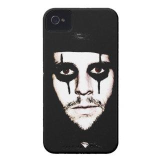 Ojos morados Brown iPhone 4 Case-Mate Cárcasa