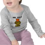 Ojos ocultados el   de Sr. Silly Camiseta