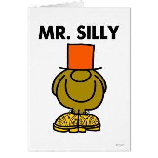 Ojos ocultados el | de Sr. Silly Tarjeta De Felicitación