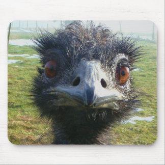 Ojos parecidos a un abalorio EMU Alfombrillas De Raton