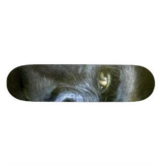 Ojos salvajes - monopatín del Silverback