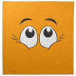 Ojos sonrientes servilletas de papel