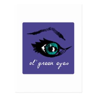 ojos verdes del o'l postal
