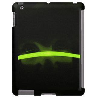 Ojos verdes funda para iPad