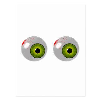 ojos verdes postales