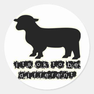 ok black sheep farm sticker