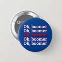 OK Boomer Button