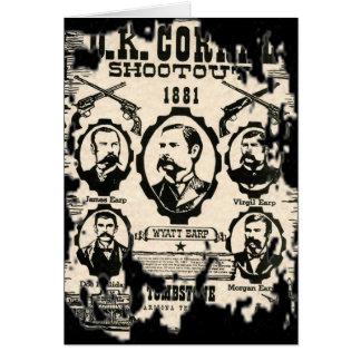 OK Corral Shootout Card