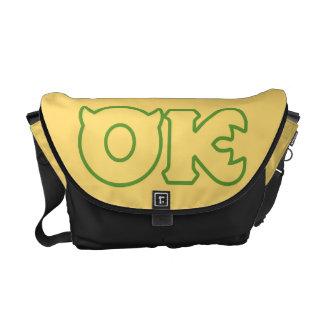 OK Logo Messenger Bags