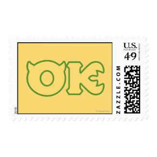 OK Logo Postage Stamp