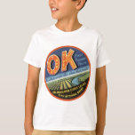OK Oklawaha River Citrus League Label T-Shirt