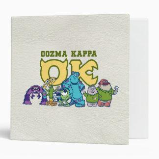 OK - OOZMA KAPPA  1 BINDERS
