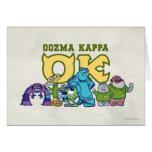 OK - OOZMA KAPPA  1 GREETING CARD