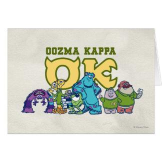 OK - OOZMA KAPPA  1 GREETING CARDS