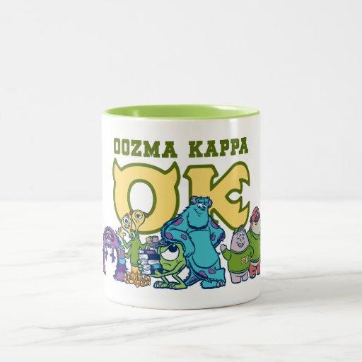 OK - OOZMA KAPPA  1 Two-Tone COFFEE MUG