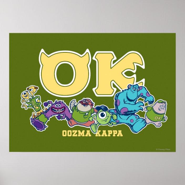 Ok Oozma Kappa 2 Poster Zazzle Com