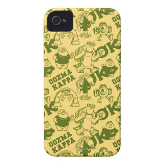 OK OOZMA KAPPA Pattern - Yellow iPhone 4 Cover