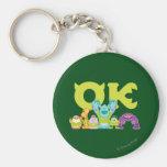OK - Scare Students Basic Round Button Keychain