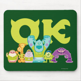 OK - Scare Students Mouse Pad