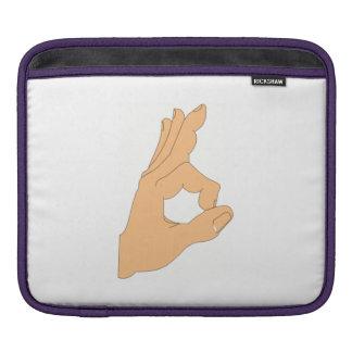 OK Sign iPad Sleeves
