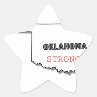 OK Strong Star Sticker
