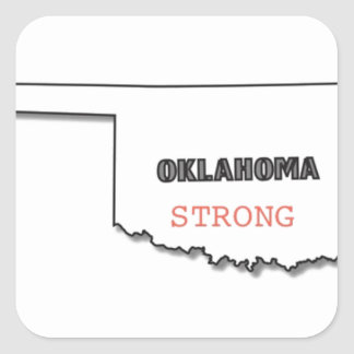 OK Strong Square Sticker