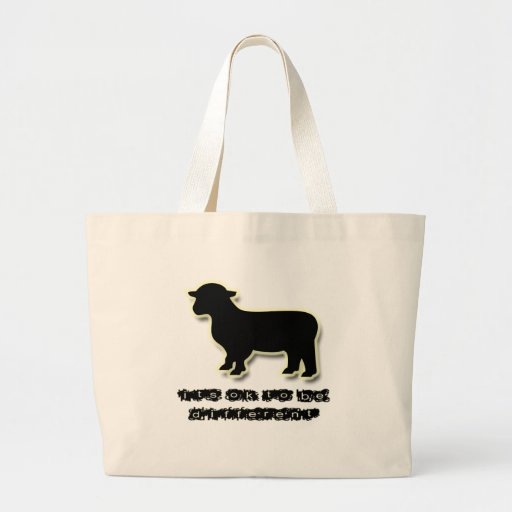 Ok to be a Black Sheep Different Bags