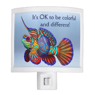 Ok to be Different Mandarin Fish Night Light