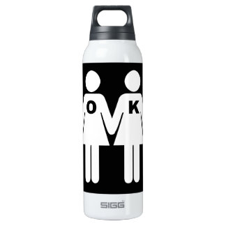 OK TO BE GAY (LESBIAN) - .png SIGG Thermo 0.5L Insulated Bottle