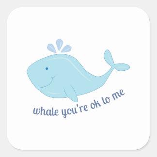Ok To Me Sticker