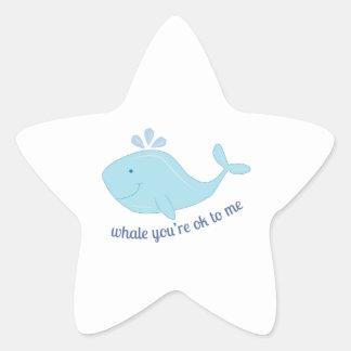 Ok To Me Star Sticker