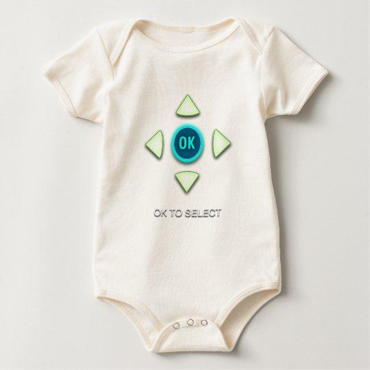 OK to Select Baby Bodysuit