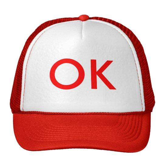 OK TRUCKER HAT