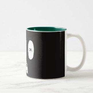 OK! Two-Tone COFFEE MUG