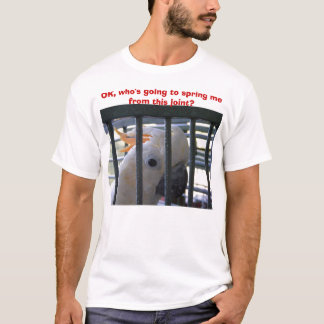 OK, who's going to spring me from this joint? T-Shirt