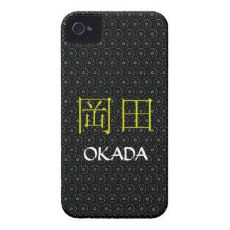 Okada Monogram iPhone 4 Cover