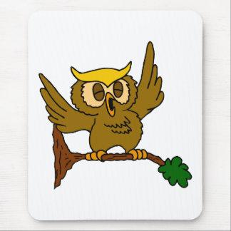 Okala Owl Mouse Pad