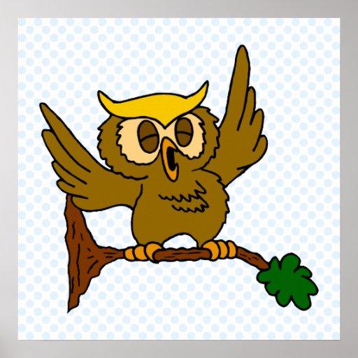 Okala Owl Print