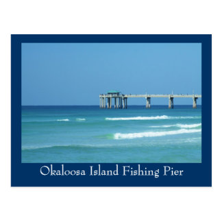 Okaloosa Island Fishing Pier Postcard