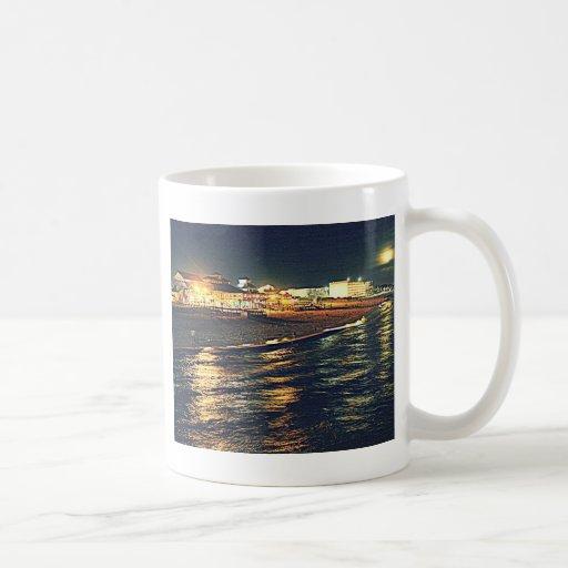 Okaloosa Pier Destin Ft Walton Beach Florida FL Coffee Mugs