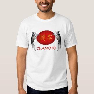 Okamoto Monogram Dog Tee Shirt