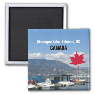 Okanagan Lake, Kelowna, BC Canada Magnet