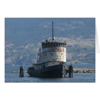 Okanagan Lake Steamship Card