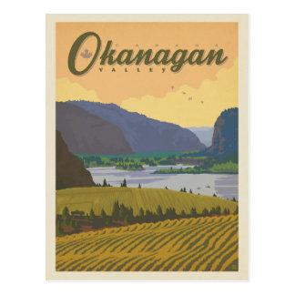 Okanagan Valley   Canada Postcard