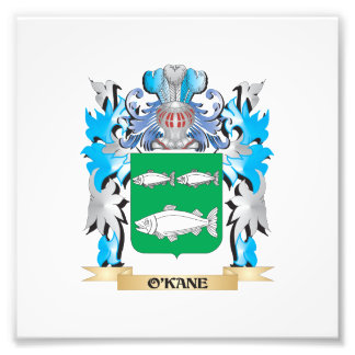 O'Kane Coat of Arms - Family Crest Photographic Print