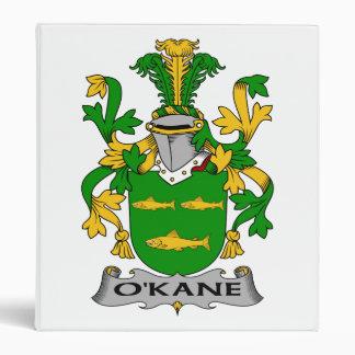 O'Kane Family Crest 3 Ring Binder