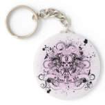 O'Kane for Life Keychain (Pink & Black)