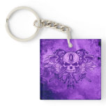 O'Kane Logo Keychain (Purple)