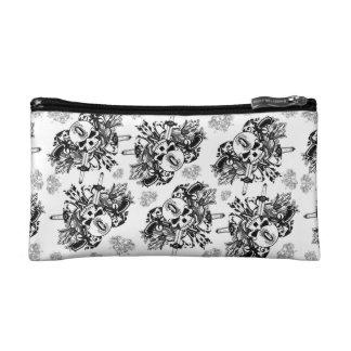 O'Kane Logo Small Bag (Black & Grey) Cosmetic Bags